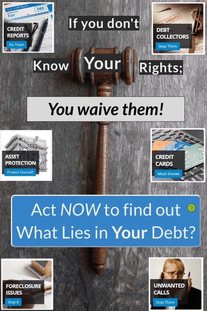 credit repair legal help debt