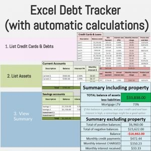 excel debt tracker