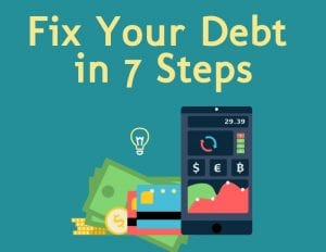 fix debt in 7 steps