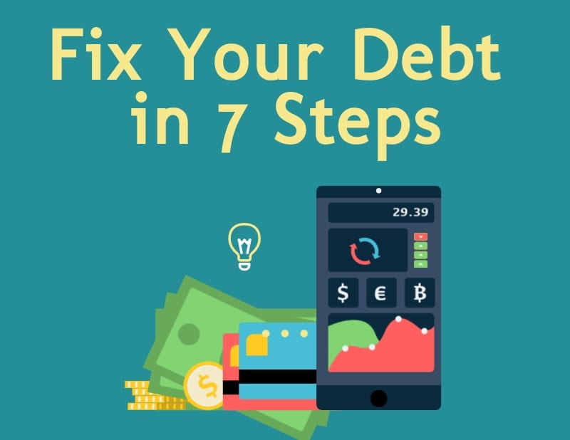 fix debt in 7 steps