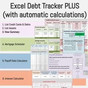 Debt Tracker PLUS