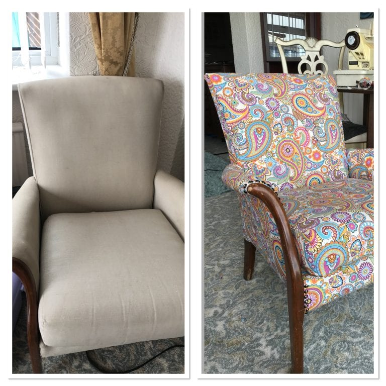 parker knoll upcycled