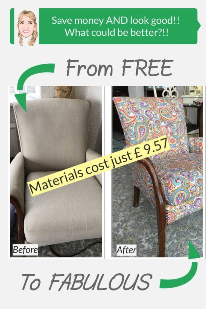 Parker know chair renovation