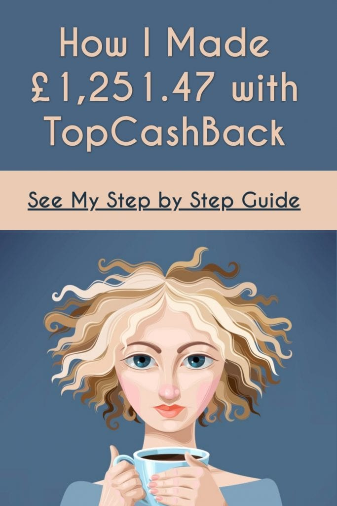 how i made money with topcashback
