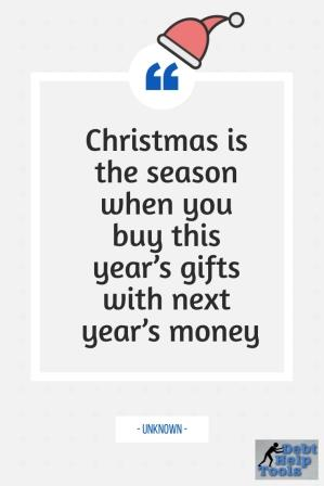 Christmas Spend Quote