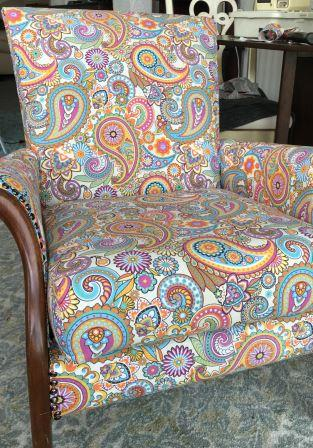 parker knoll upcycled chair