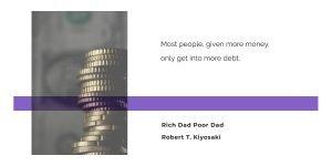 debt quotes header
