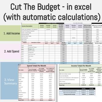 Cut the budget_0